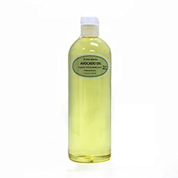 Dr. Adorable - 100% Pure Avocado Oil Organic Cold Pressed Refined Natural Hair Skin - 16 oz