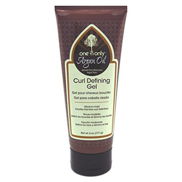 One N Only Argan Oil Curl Defining Gel 6 Ounce (Medium Hold) (177ml)