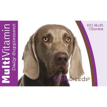 Healthy Breeds Weimaraner Multi-Vitamin Soft Chews 60 Count