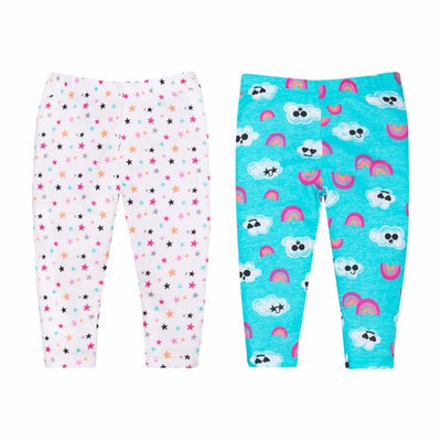Baby Girl Printed Knit Pants, 2-Pack [baby_clothing_size: baby_clothing_size-nb]