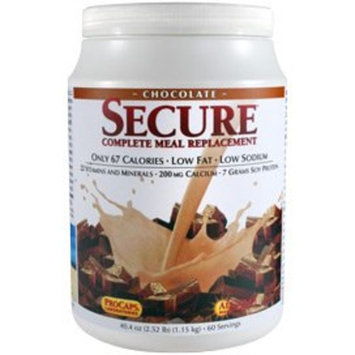 Secure Soy Complete Meal Replacement - Chocolate 60 Servings