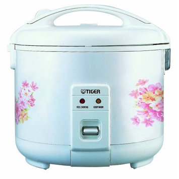 TIGER JNP-1000 White 5.5 Cups Rice Cooker - warmer