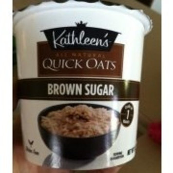 Kathleen's Quick Oats, Cup, Brown Sugar (Pack of 4)
