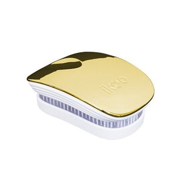 Ikoo Compact Detangling Hair Brush, No More Tangled Hair - Great for Wet or Dry Hair, Women, Men, Girls and Boys. Extensions, Natural Hair or Wigs.