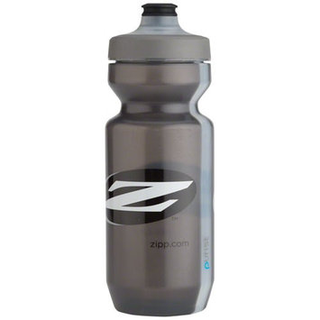 Zipp Water Bottle: Purist with Watergate by Specialized, Gray, 22oz