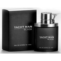 Myrurgia Yacht Man Black Eau de Toilette Spray for Men, 3.4 Ounce