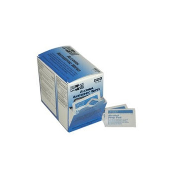 First Aid Only Alcohol Wipes, 100 Per Box