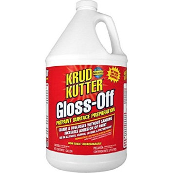 Krud Kutter GO01 Clear Gloss-Off Prepaint Surface Preparation with Mild Odor, 1 Gallon