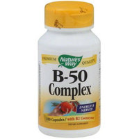 Natures Way Vitamin B 50 Complex, 100 PC