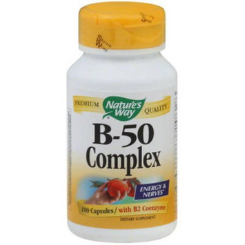 Natures Way Vitamin B 50 Complex, 100 PC
