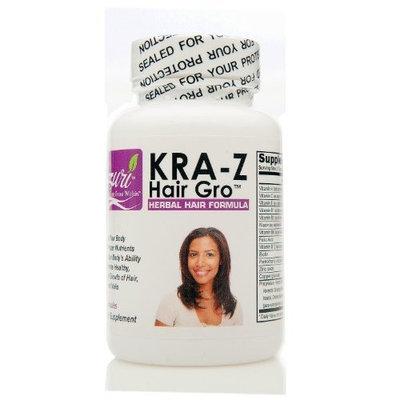 Nzuri Kra-z Hair Gro Herbal Hair Vitamin Formula; 60 Capsules