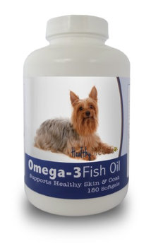 Healthy Breeds 840235141983 Silky Terrier Omega-3 Fish Oil Softgels - 180 count