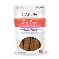 Caru Soft 'n Tasty Bars Dog Treat, Beef, 3.5 Oz