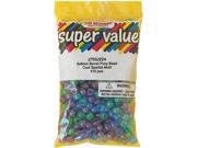 Beadery 151601 Pony Beads 6x9mm 415-Pkg-Cool Sparkle Multi