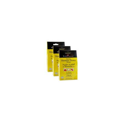 WEDDERSPOON Organic Manuka Honey Drops (3 x Lemons - 120 Gr)
