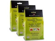 WEDDERSPOON Organic Manuka Honey Drops (3 x Eucalyptus - 120 Gr)