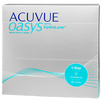 ACUVUE OASYS 1-Day with HydraLuxe Contacts