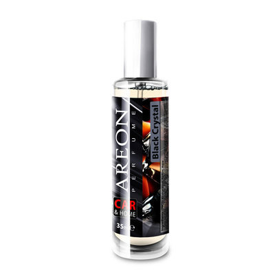 Areon Black Crystal 35 Ml Car And Home Perfume - AREBC12SCH