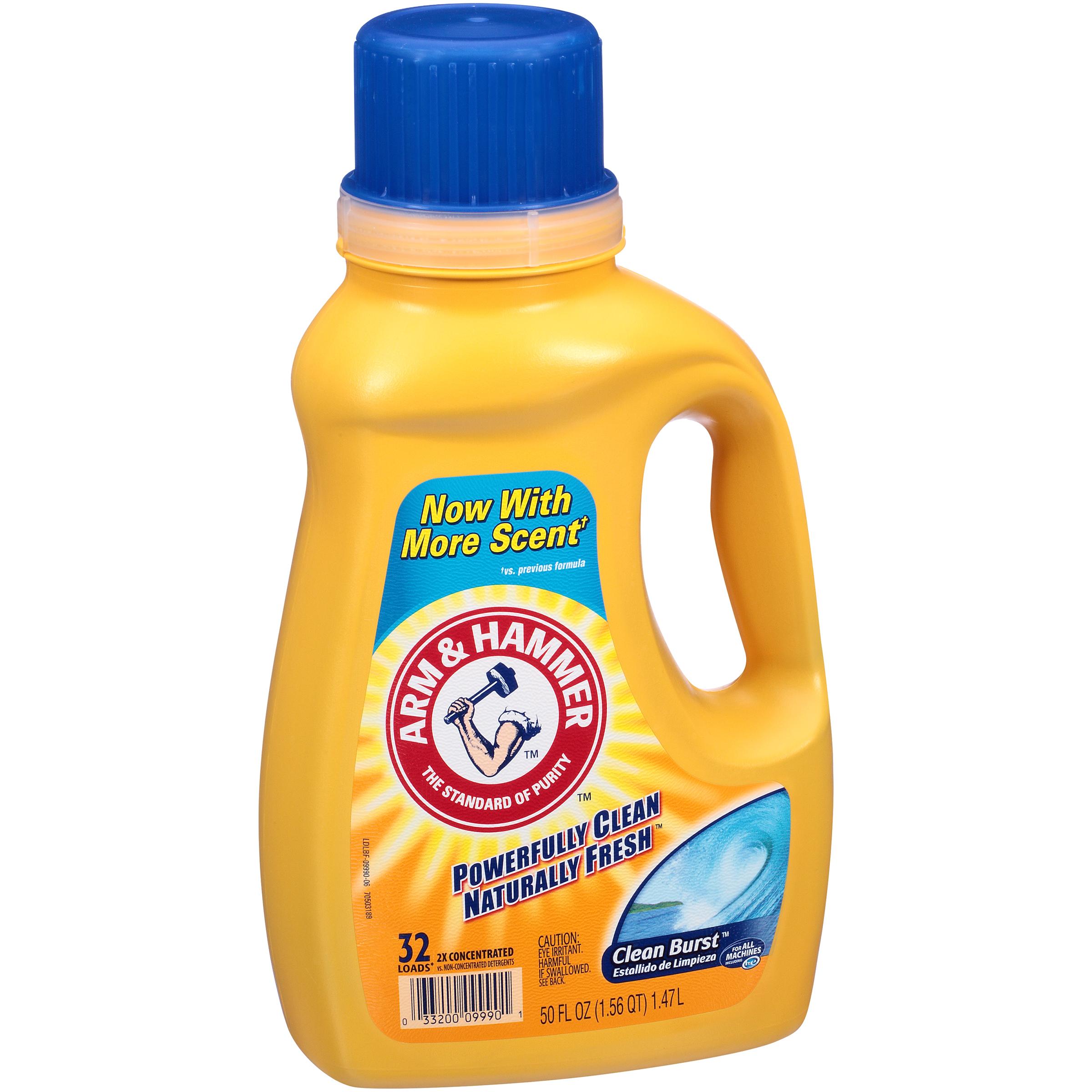 Arm & Hammer® 2X Concentrated Clean Burst™ 50 fluid oz