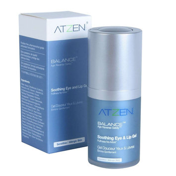 ATZEN BALANCE Age Reverse Safely Soothing Eye & Lip Gel (15 ml / 0.5 fl oz)