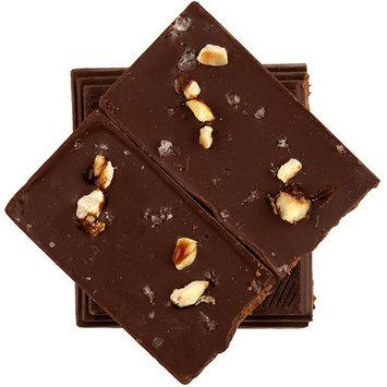 Alma Chocolate Hazelnut Sea Salt Dark Chocolate Bar