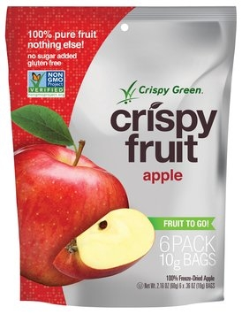 Crispy Green Crispy Fruit 100% Freeze Dried Apple