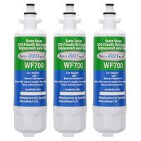 Aqua Fresh Replacement Water Filter for LG LFXS24623W Refrigerators (3 Pack)