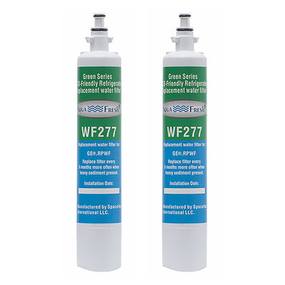 Aqua Fresh Replacement Water Filter Cartridge for GE Appliance RPWF/WF277 (2-Pack)