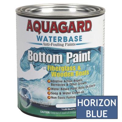 Aquaguard Aquagard 38703M AQUAGARD WATERBASED BOTTOM PAINT QUART HORIZON BLUE