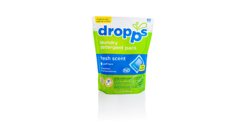 Dropps Laundry Detergent Pacs Fresh Scent Reviews 2019