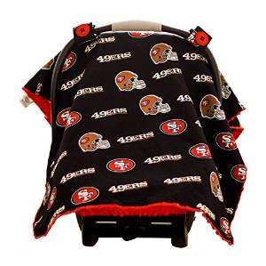 Baby Fanatic Car Seat Canopy, San Francisco 49ers SFF901