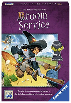 Broom Service - Strategy Game 81083 Ravensburger