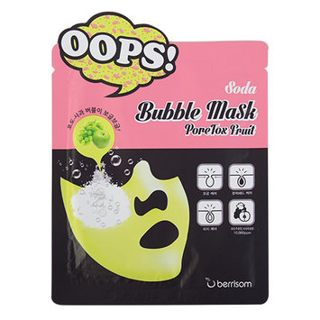 Berrisom PoreTox Fruit Soda Bubble Mask