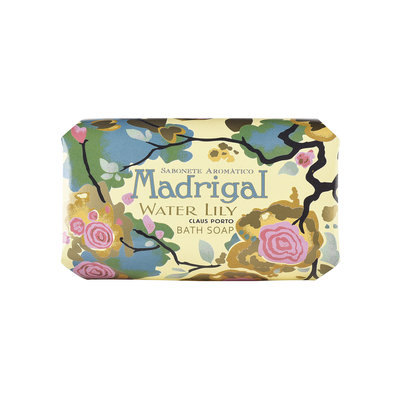 Madrigal Water Lily Soap by Claus Porto for Unisex - 12.4 oz Soap