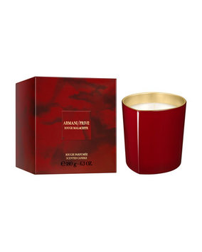 Armani Rouge Malachite Candle