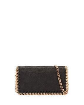 Stella McCartney Falabella Chain Crossbody Bag, Black
