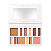 BH Cosmetics Illuminate By Ashley Tisdale 12 Color Eye and Cheek Palette - Beach Goddess