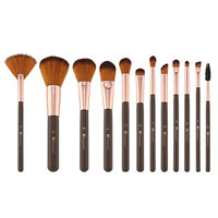 BH Cosmetics Shimmering Bronze 12 Piece Brush Set