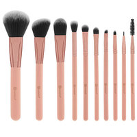 BH Cosmetics Pretty In Pink 10 Piece Brush Set With Cosmetic Bag