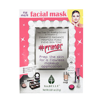 Biobelle Primer 5-minute Botanic Fiber Facial Mask