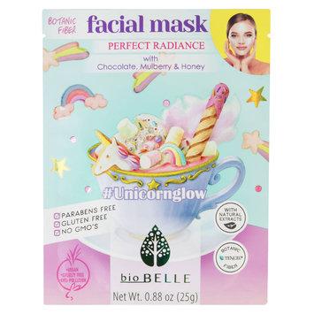 bioBELLE Unicorn Glow Botanic Fiber Facial Mask