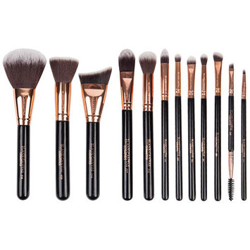 Blank Canvas Cosmetics Dimension Series 12 Piece Face & Eye Brush Set