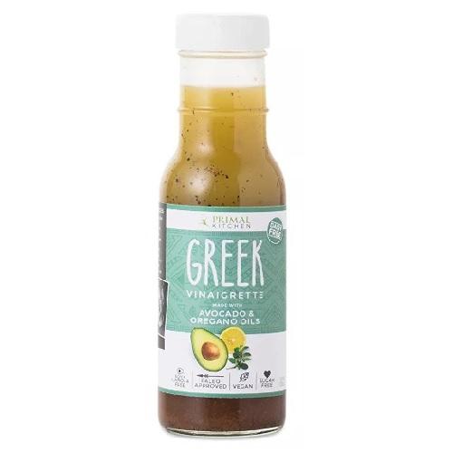 Primal Kitchen BWA17134 6 x 8 oz Vinaigrette Greek & Avocado Oil