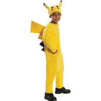 Rubies Costume Co R884779-M Boys Deluxe Pokemon Pikachu Costume MEDIUM