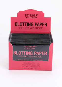 City Color F-0054B Blotting Paper - Rose Scented