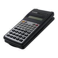 Bazic 10-Digit Black Scientific Calculator with Flip Cover