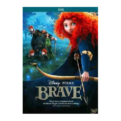 Brave DVD Movie 1 Disc