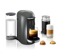 Nespresso VertuoPlus Titan Deluxe Bundle by Breville