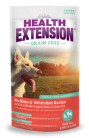 Holistic Health Extension Grain-Free Buffalo, Whitefish & Chickpea Dry Dog Food, 4 Lb