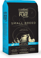 CANIDAE Grain Free PURE Petite Small Breed Chicken Formula, 3 lbs